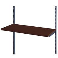 木棚セット W900 ダークブラウン D300 (53784-1*)