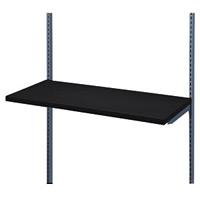 木棚セット W900 ブラック D450 (53785-4*)