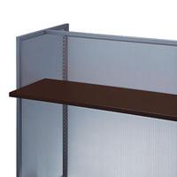 木棚セットW1200 ダークブラウン D300 (53782-1*)