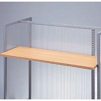 木棚セット クリア色 W1200 D300 (49966-1*)