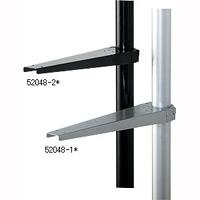 HPSポール用 木棚ブラケット 金具シルバー (52048-1*)
