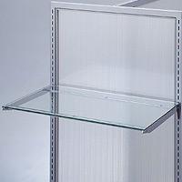 ガラス棚セット W600 (5mm厚) ×D400 (49985***)