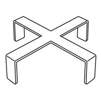 十字トップパーツ SP10-JX (クローム) (51886***)