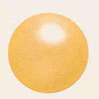 デコバルーンパール (10枚入) 9cm 黄パール (SAGD6151)