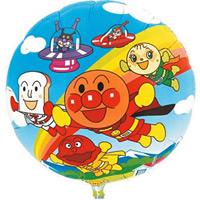 キャラクターバルーン (10枚入) アンパンマン (51099-1*)