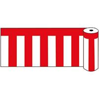 ビニール紅白幕 ロール40 (53229-1*)