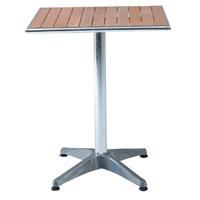 アルミテーブル (角600) C/D65040 (54319***)