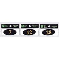 表示プレートH UV樹脂製 ナンバーサイン 表示:1 (WL28-1)