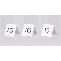 表示プレートH 卓上プレート アクリル 番号札 表示:21 (UP723-21)