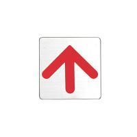 表示プレートH ドアサイン 角型 ステンレス 表示:矢印 (FS636-9) (FS636-9*)