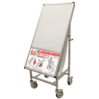 サポートサイン 非常搬送用車椅子タイプ ホワイトボード (SPS-ISU-WB)