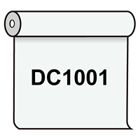【送料無料】 ダイナカル DC1001 ホワイト(グレー糊) 1020mm幅×10m巻 (DC1001)