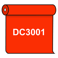 【送料無料】 ダイナカル DC3001 バーミリオンオレンジ 1020mm幅×10m巻 (DC3001)