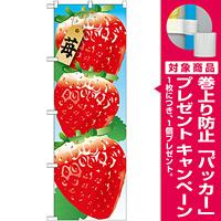 のぼり旗 苺 絵旗 -1 (21402) [プレゼント付]