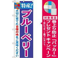 のぼり旗 特産!ブルーベリー (21468) [プレゼント付]