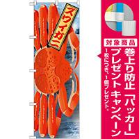 のぼり旗 ズワイガニ 絵旗 (21591) [プレゼント付]