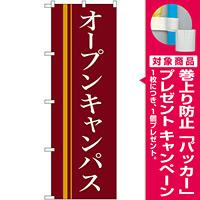 のぼり旗 オープンキャンパス エンジ地 (22333) [プレゼント付]