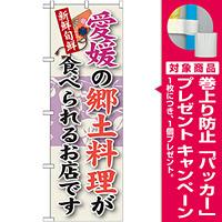 ご当地のぼり旗 愛媛の郷土料理 (SNB-89) [プレゼント付]
