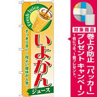 のぼり旗 いよかん (ジュース) (SNB-302) [プレゼント付]