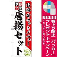 のぼり旗 唐揚セット (SNB-479) [プレゼント付]