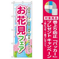 のぼり旗 お花見フェア (60029) [プレゼント付]