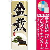 のぼり旗 盆栽 (GNB-1012) [プレゼント付]