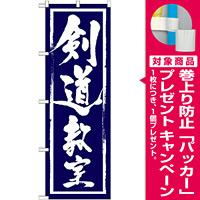 のぼり旗 剣道教室 (GNB-1016) [プレゼント付]