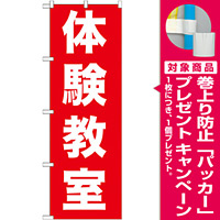 のぼり旗 体験教室 (GNB-1026) [プレゼント付]