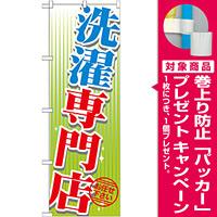のぼり旗 洗濯専門店 (GNB-1147) [プレゼント付]