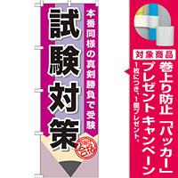 のぼり旗 試験対策 (GNB-1571) [プレゼント付]