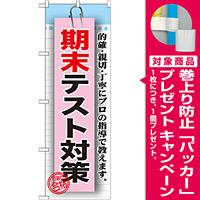 のぼり旗 期末テスト対策 (GNB-1578) [プレゼント付]