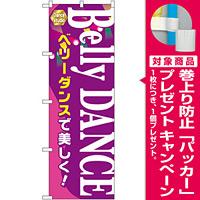 のぼり旗 Belly DANCE (GNB-2124) [プレゼント付]