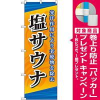 のぼり旗 塩サウナ (GNB-2177) [プレゼント付]