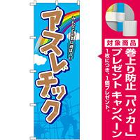 のぼり旗 アスレチック (GNB-2417) [プレゼント付]