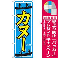 のぼり旗 カヌー (GNB-2427) [プレゼント付]