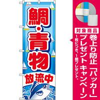 のぼり旗 鯛・青物 (GNB-402) [プレゼント付]
