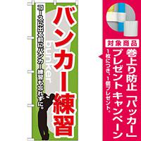 のぼり旗 バンカー練習 (GNB-538) [プレゼント付]