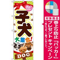 のぼり旗 子犬 (GNB-553) [プレゼント付]