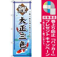 のぼり旗 鯉 大正三色 (GNB-588) [プレゼント付]