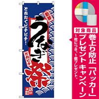 のぼり旗 うなぎ祭 (H-2397) [プレゼント付]