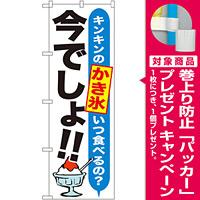 のぼり旗 かき氷 今でしょ!! (SNB-1323) [プレゼント付]