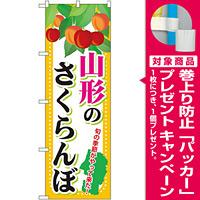 のぼり旗 山形のさくらんぼ (SNB-1332) [プレゼント付]