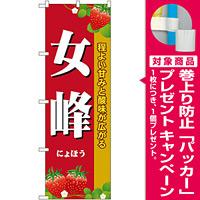 のぼり旗 女峰 (SNB-1418) [プレゼント付]