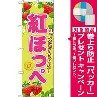 のぼり旗 紅ほっぺ (SNB-1425) [プレゼント付]