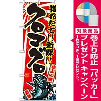 のぼり旗 クロマグロ (SNB-1462) [プレゼント付]