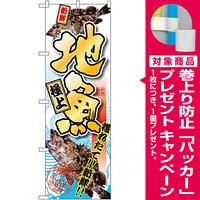 のぼり旗 地魚 魚の写真入り(SNB-1537) [プレゼント付]