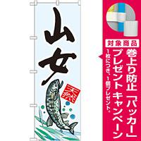 のぼり旗 山女 天然 (SNB-2303) [プレゼント付]