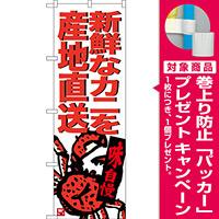 のぼり旗 新鮮なカニを産地直送 (SNB-3687) [プレゼント付]