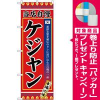 (新)のぼり旗 ケジャン (SNB-3842) [プレゼント付]