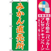 のぼり旗 (2235) みかん直売所 [プレゼント付]